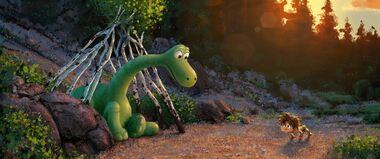 Le voyage d'Arlo, un film avec des dinosaures dépressifs ?