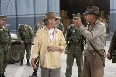 """Steven Spielberg et Harrison Ford disent """"oui"""" à un 5ème Indiana Jones"""