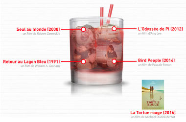 Open bar : La Tortue rouge de Michael Dudok de Wit