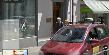 Jean-Luc Godard tourne sur Google Maps