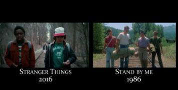 Cette vidéo compile toutes les références dans Stranger Things