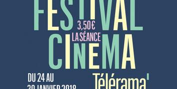 Découvrez le programme du prochain Festival cinéma Télérama