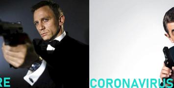 """""""Mourir peut attendre"""" : le dernier Bond cloué par le coronavirus"""