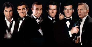 """""""Mourir peut attendre"""" : classez vos James Bond préférés, du meilleur au pire !"""