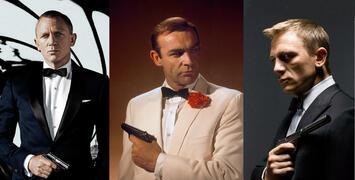 Vous avez voté :  voici vos James Bond préférés