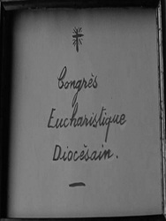 Congrès eucharistique diocésain
