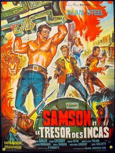 Samson et le trésor des Incas