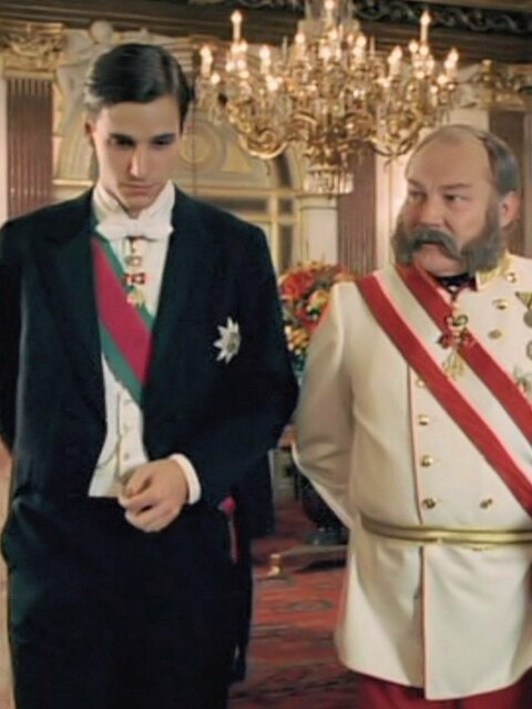 Prince Rodolphe : l'héritier de Sissi