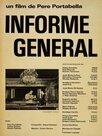 Rapport général sur quelques questions d'intérêt pour une projection publique