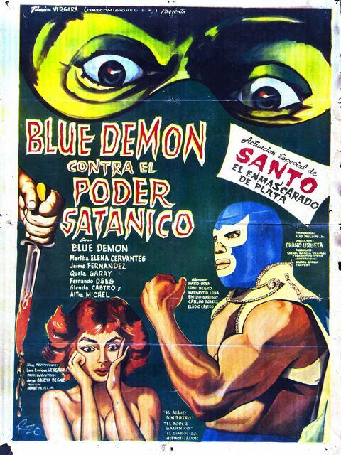 Blue Demon contre le pouvoir satanique