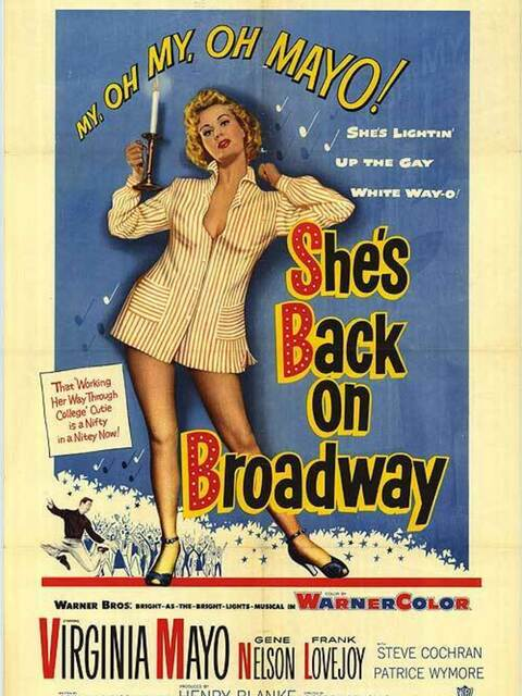 She's Back on Broadway