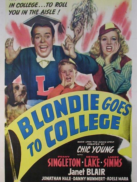 Blondie Goes to College