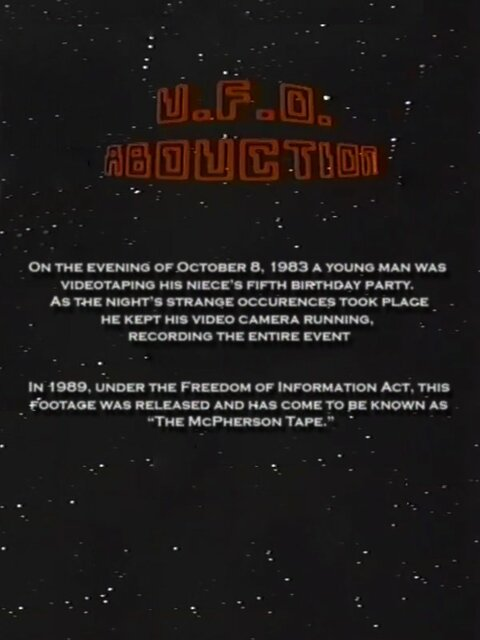 U.F.O. Abduction