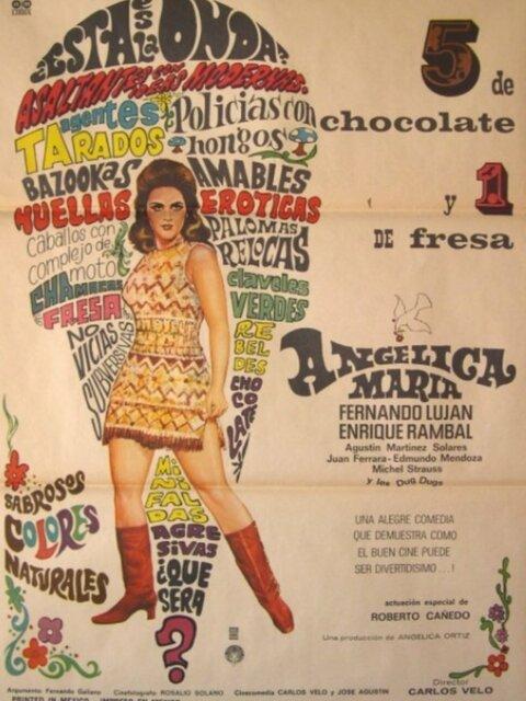 5 de chocolate y 1 de fresa