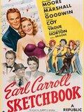 Earl Carroll Sketchbook