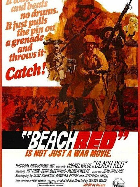 Le sable était rouge