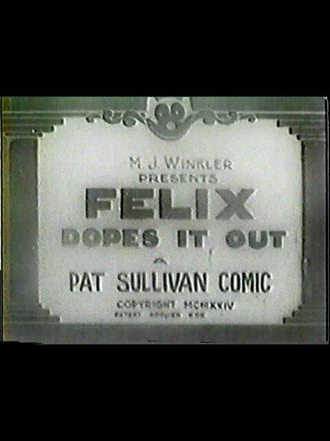 Felix Dopes It Out