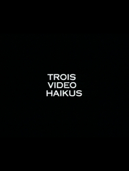 Trois video haikus