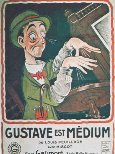 Gustave est médium