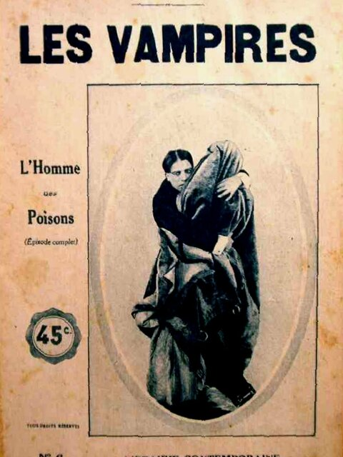 Les Vampires : l'homme des poisons