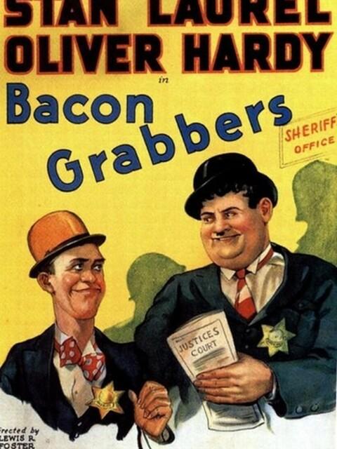 Laurel et Hardy - Une saisie mouvementée