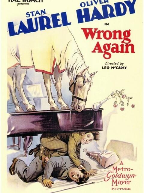 Laurel et Hardy - Y a erreur !
