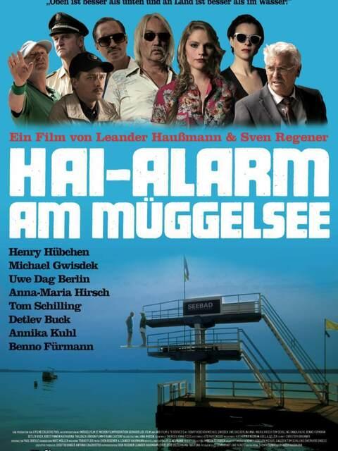 Shark alarm at Müggel Lake