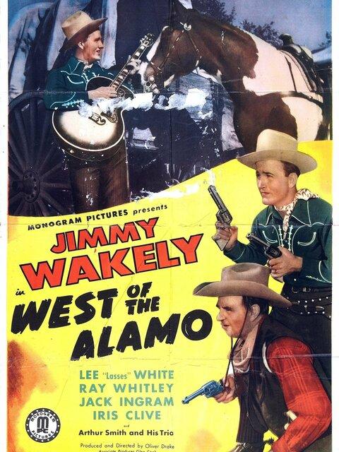 West of the Alamo