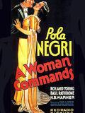 A Woman Commands