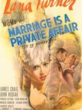 Marriage Is a Private Affair