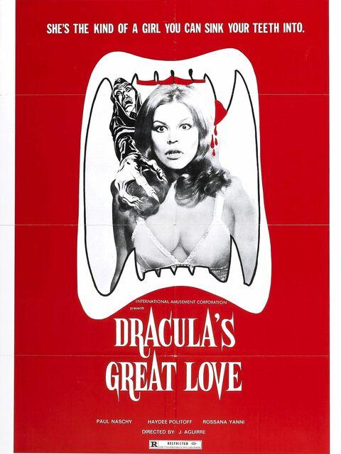 Le grand amour du comte Dracula