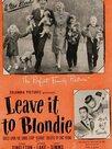 Leave It to Blondie