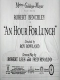 An Hour for Lunch
