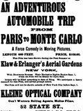 Le Raid Paris-Monte Carlo en deux heures