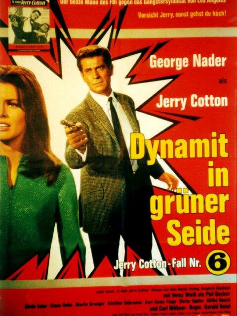 Jerry Cotton: Dynamit in grüner Seide