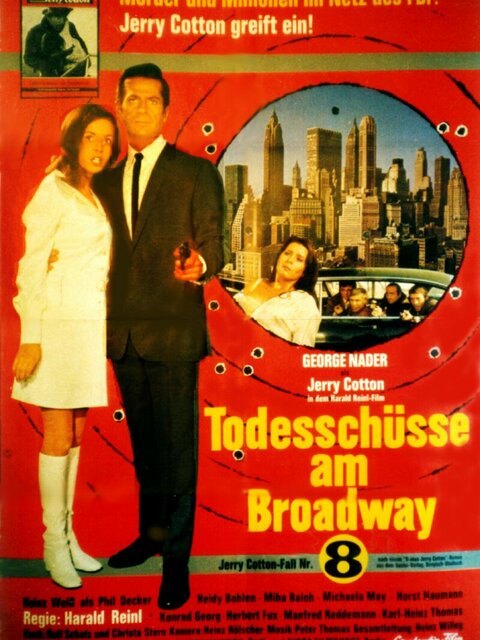 Jerry Cotton - Todesschüsse am Broadway