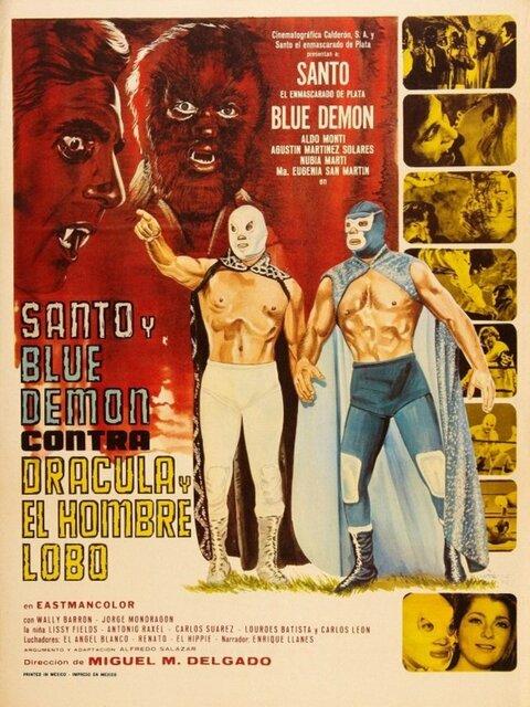 Santo et Blue Demon contre Dracula et le loup-garou