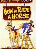 Dingo fait de l'équitation