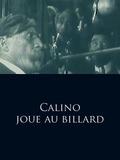Calino joue au billard
