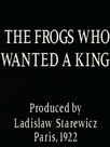 Les grenouilles qui demandent un roi