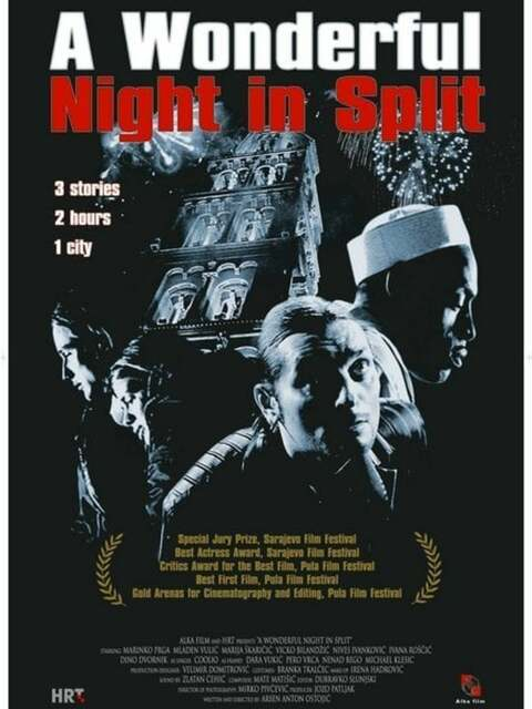 Une merveilleuse nuit à Split