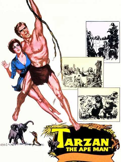 Tarzan, l'homme-singe
