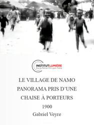 Le village de Namo - Panorama pris d'une chaise à porteurs