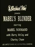 Mabel's Blunder