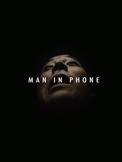 Man in Phone
