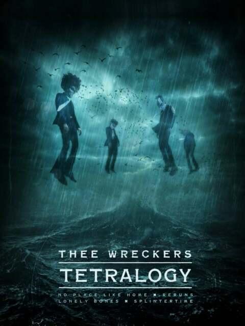 Thee Wreckers Tetralogy - Un trip rock de Rosto