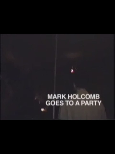 Mark Goes to a Party