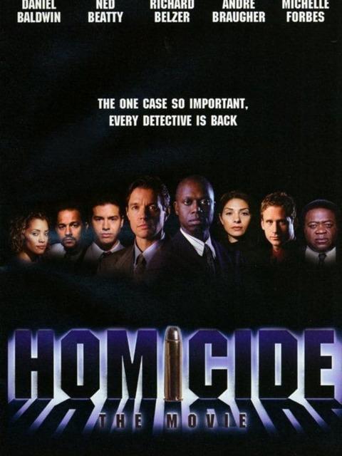 Homicide Le Film
