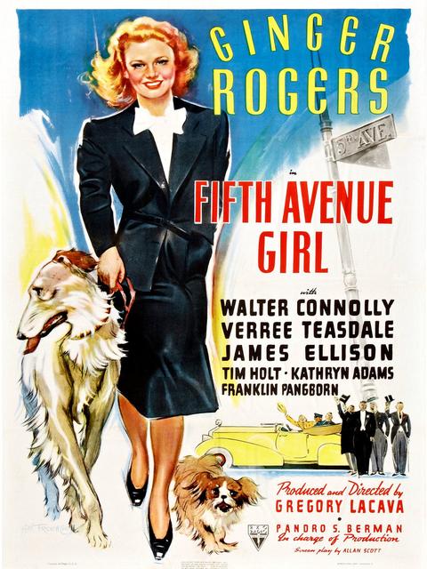 film : La Fille de la cinquième avenue