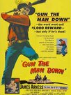 Gun the man down
